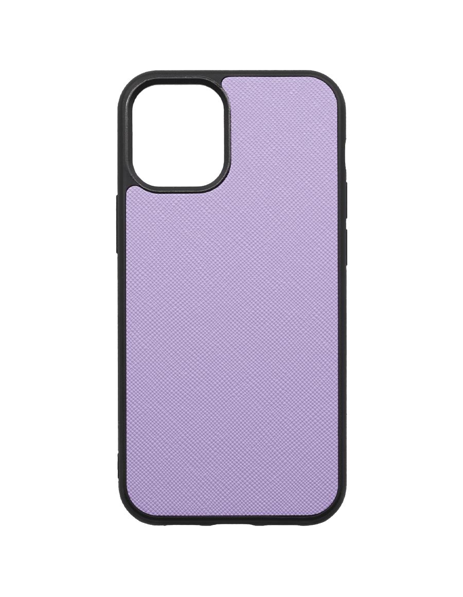Lilac Saffiano Vegan iPhone 12 MINI Case