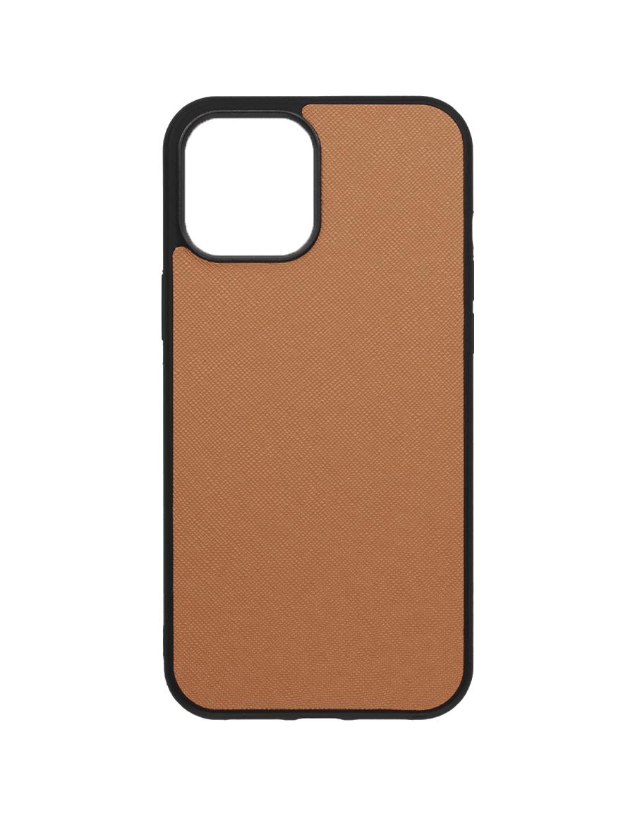 Latte Saffiano  Vegan iPhone 12 Pro Max Case