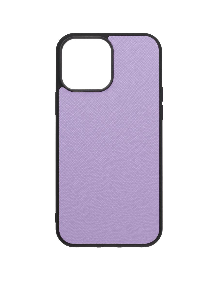 Lilac Saffiano Vegan iPhone 13 Pro Max Case