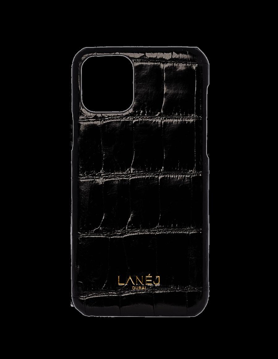 Noir Croc Iphone 11 Pro
