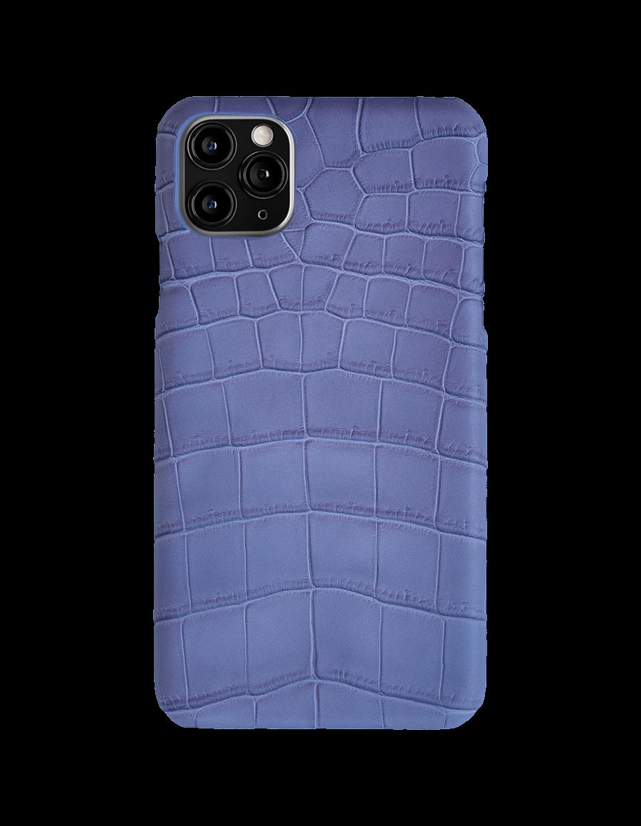 Matte Lilac Croc Iphone 11 Pro Max