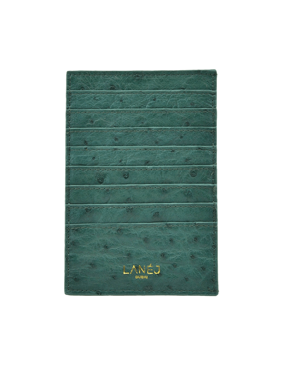 Ascot Green Grande Card Holder