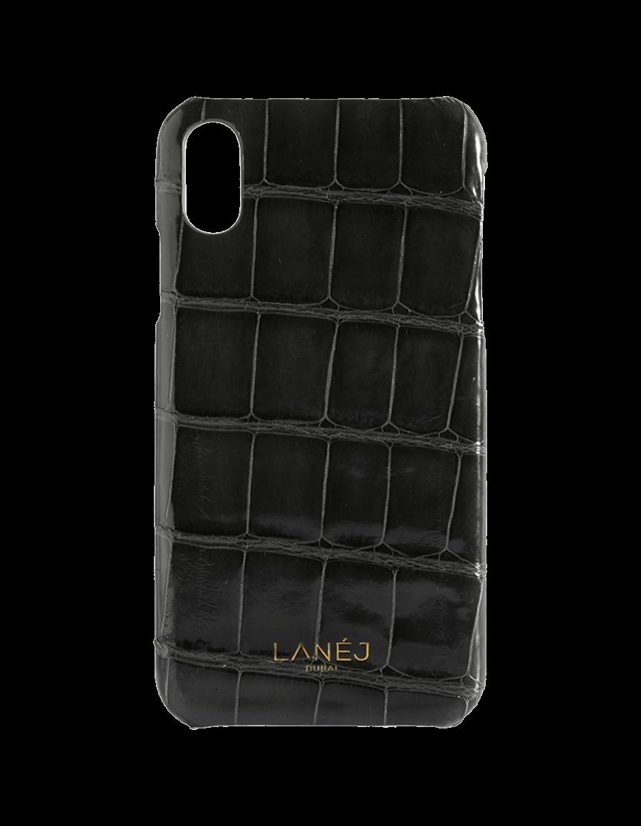 Ash Grey Croc Iphone XR