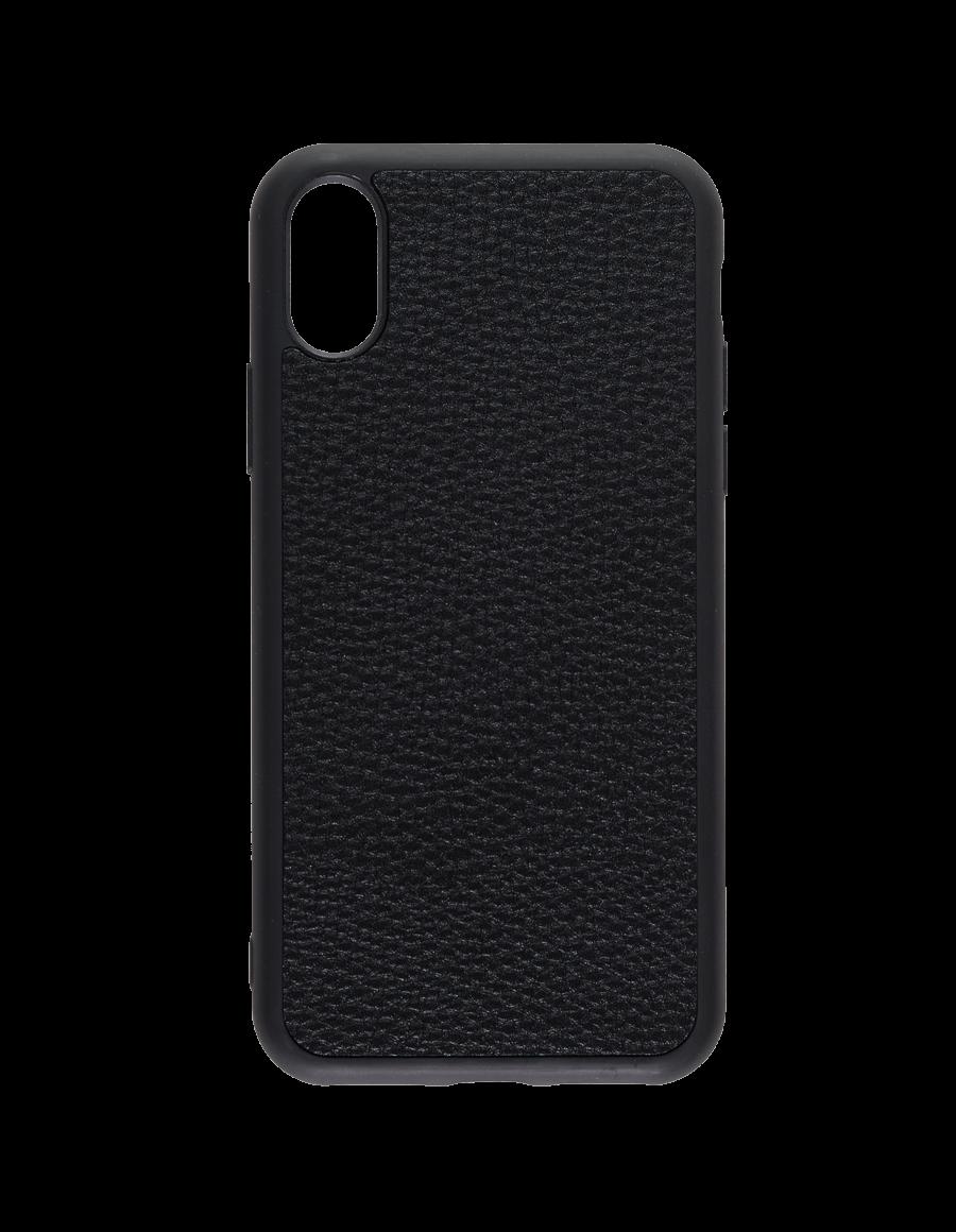 Black Vegan iPhone X Case
