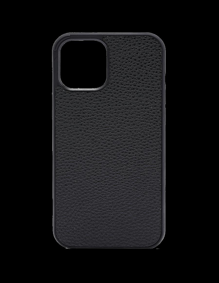 Black Vegan iPhone 12 / 12 Pro Case
