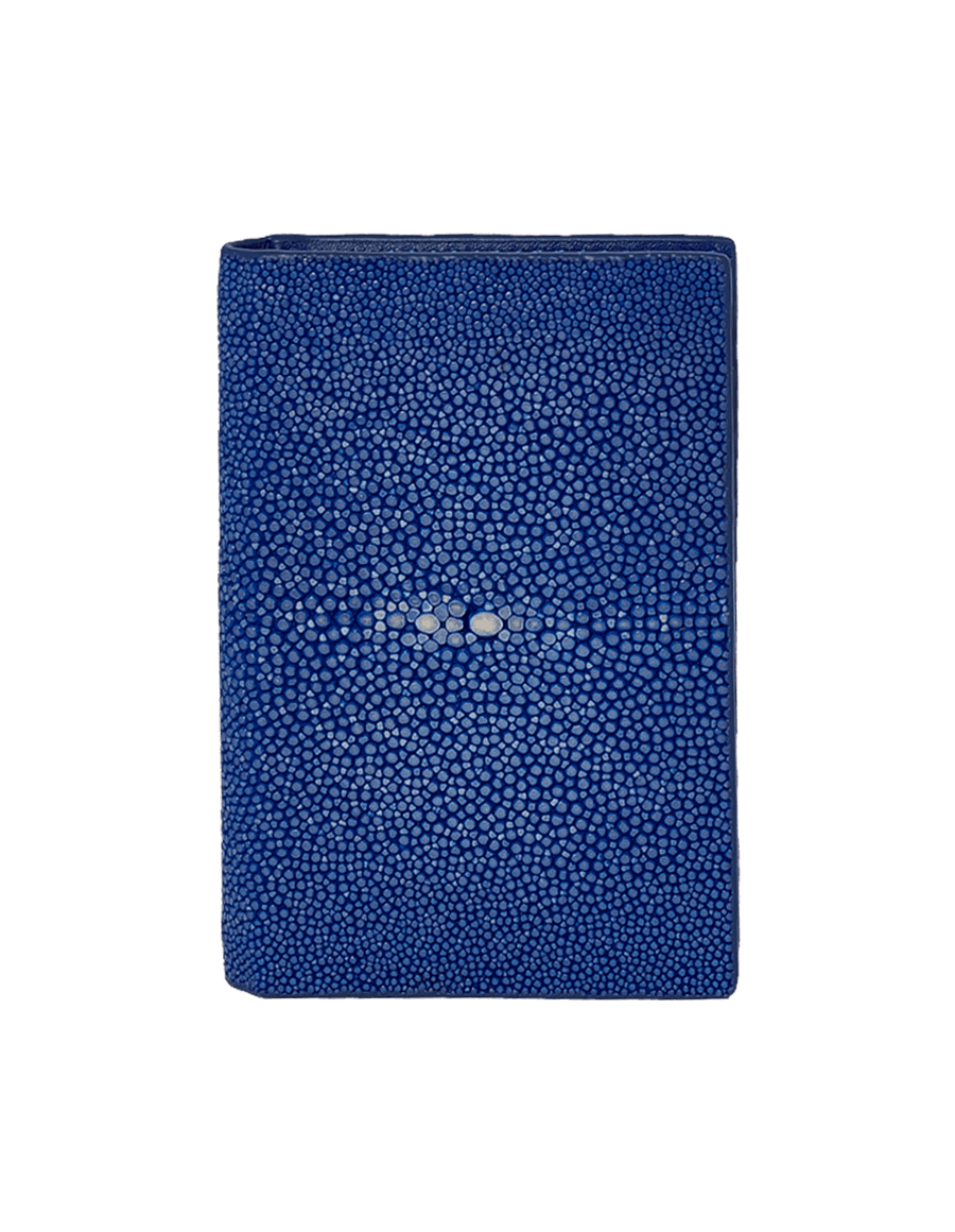 Blue Stingray Bi-Fold Card Holder
