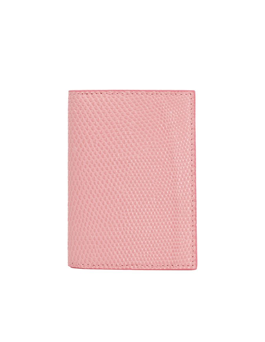 Candy Pink Lizard Bi-Fold Holder