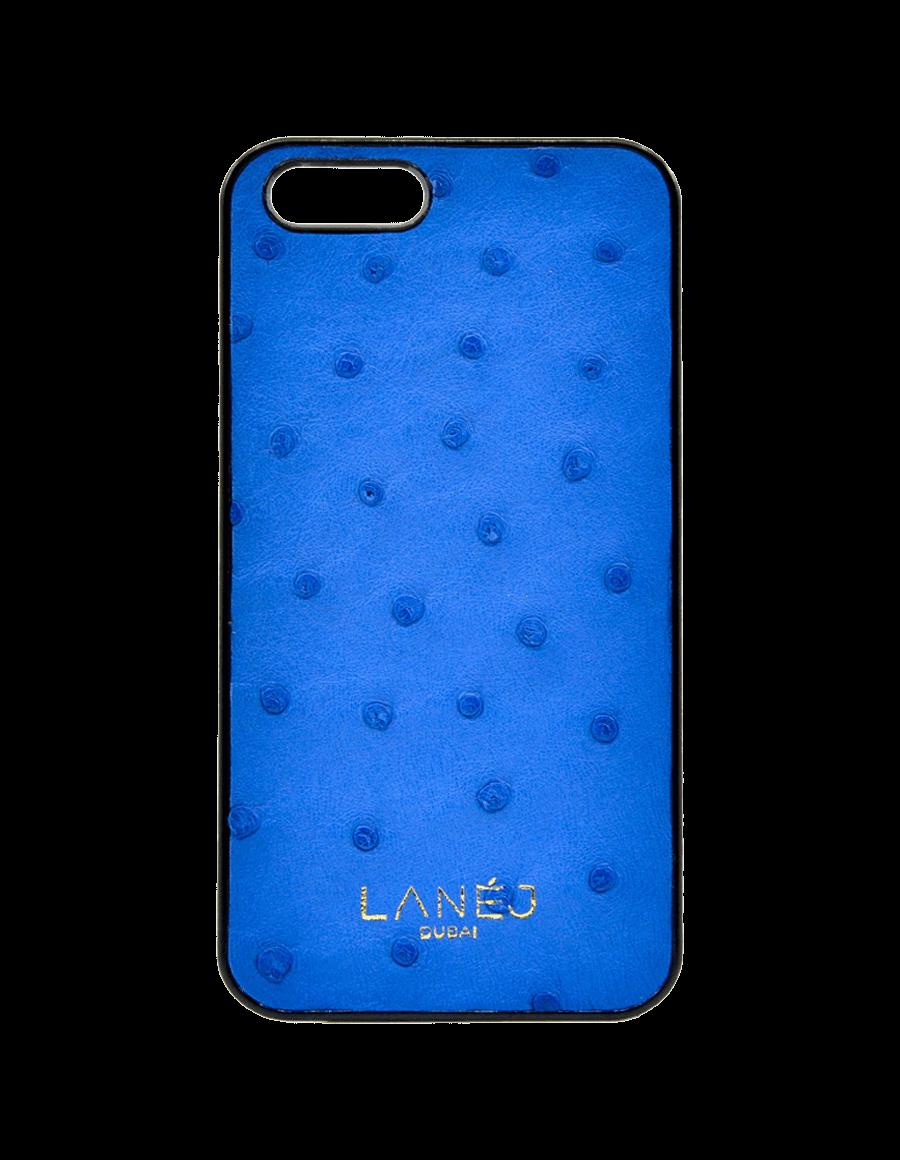 Blue Ostrich Iphone SE