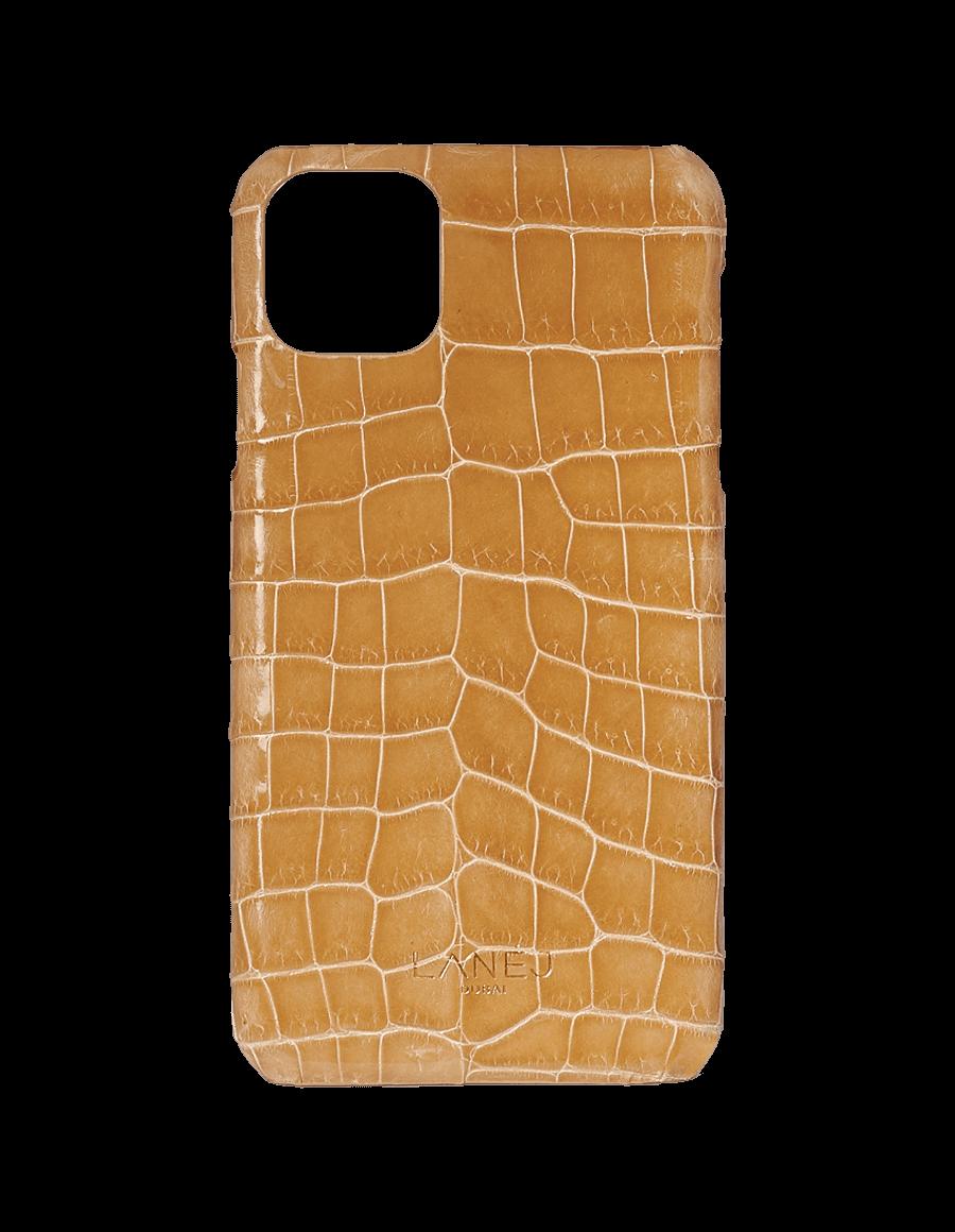 Creme Croc Iphone 11 Pro Max