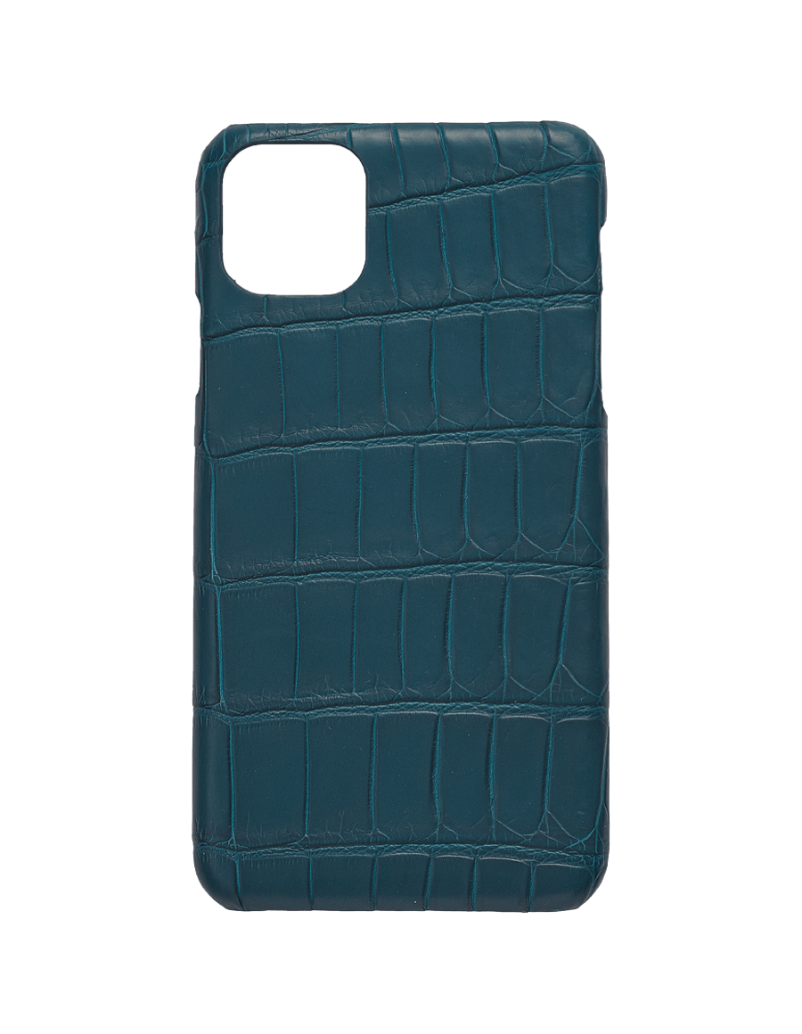 Matte Denim IV Croc Iphone 11 Pro Max