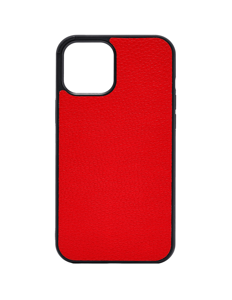 Fire Red Vegan iPhone 12 Pro Max Case