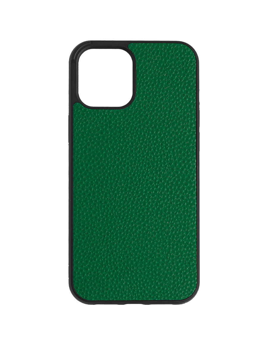Forest Green Vegan iPhone  12 Pro Max Case