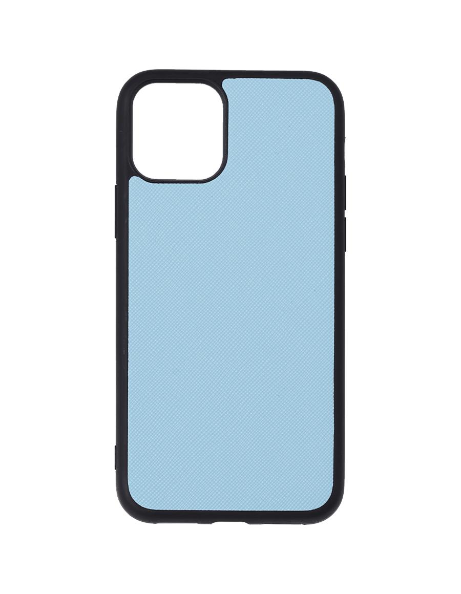 Frost Blue Saffiano Vegan iPhone 11 Pro Case