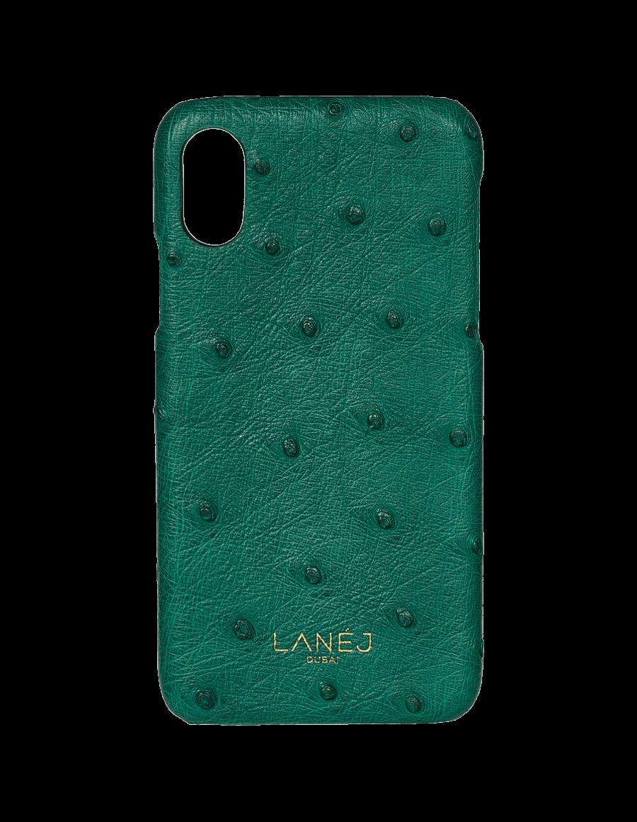 Green Ostrich Iphone X/XS