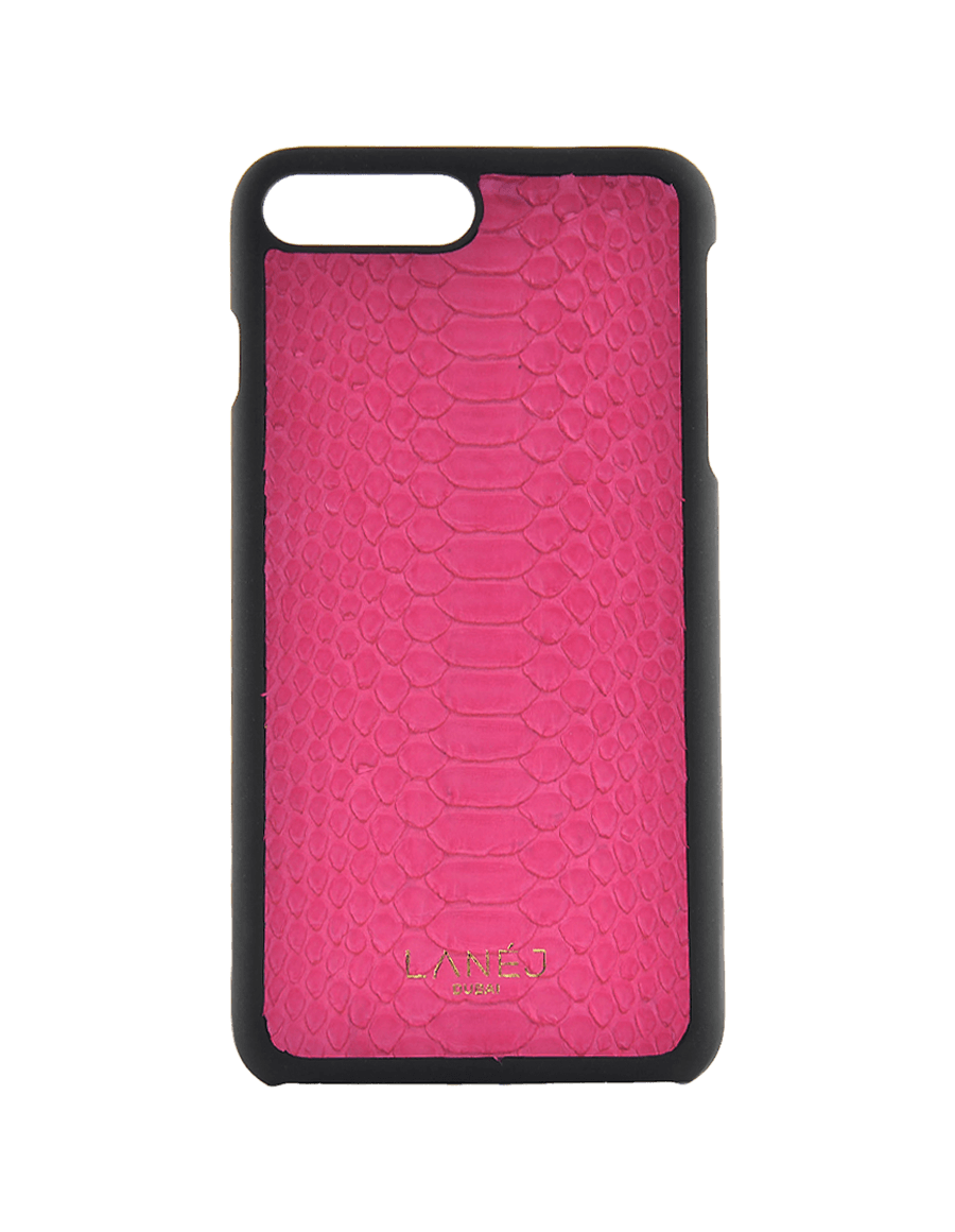 Pink Python Iphone 7+/8+ With Border