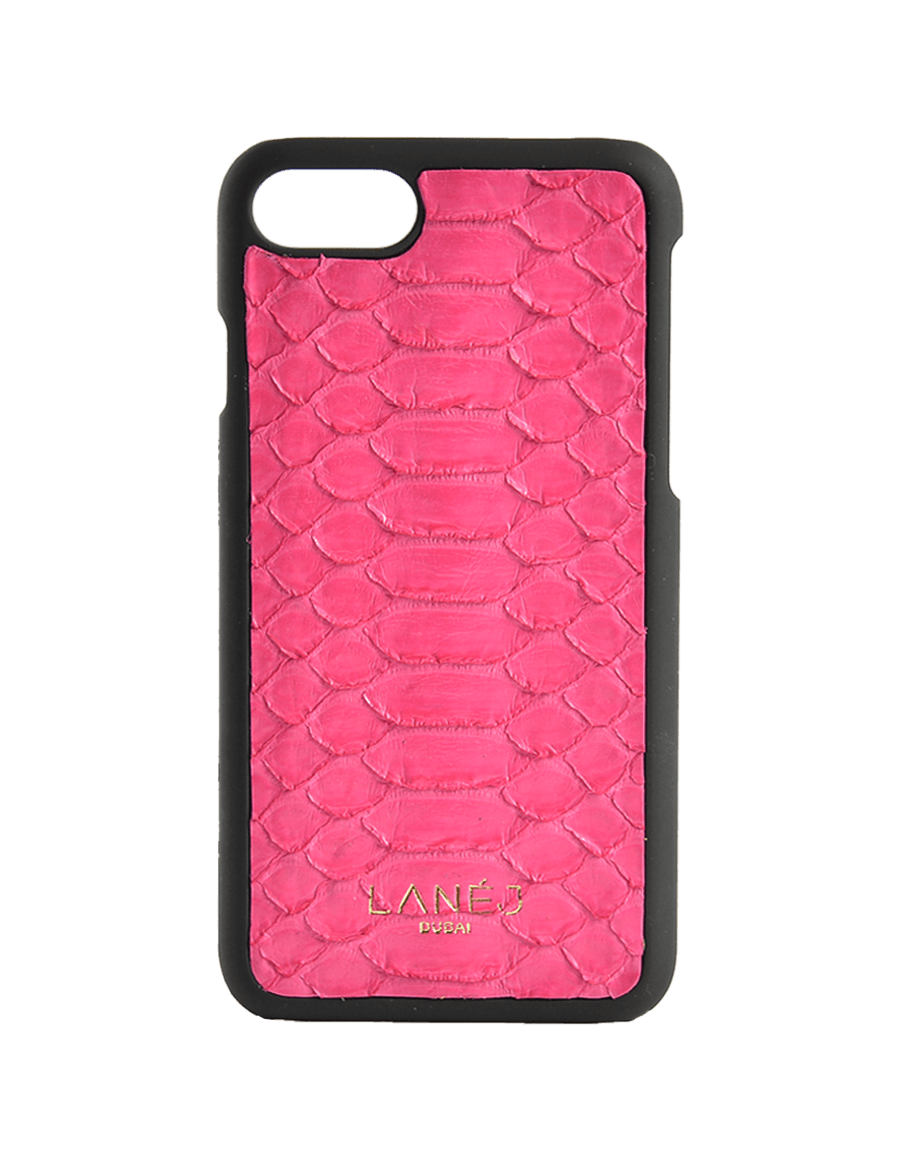 Pink Python Iphone 7/8 With Border