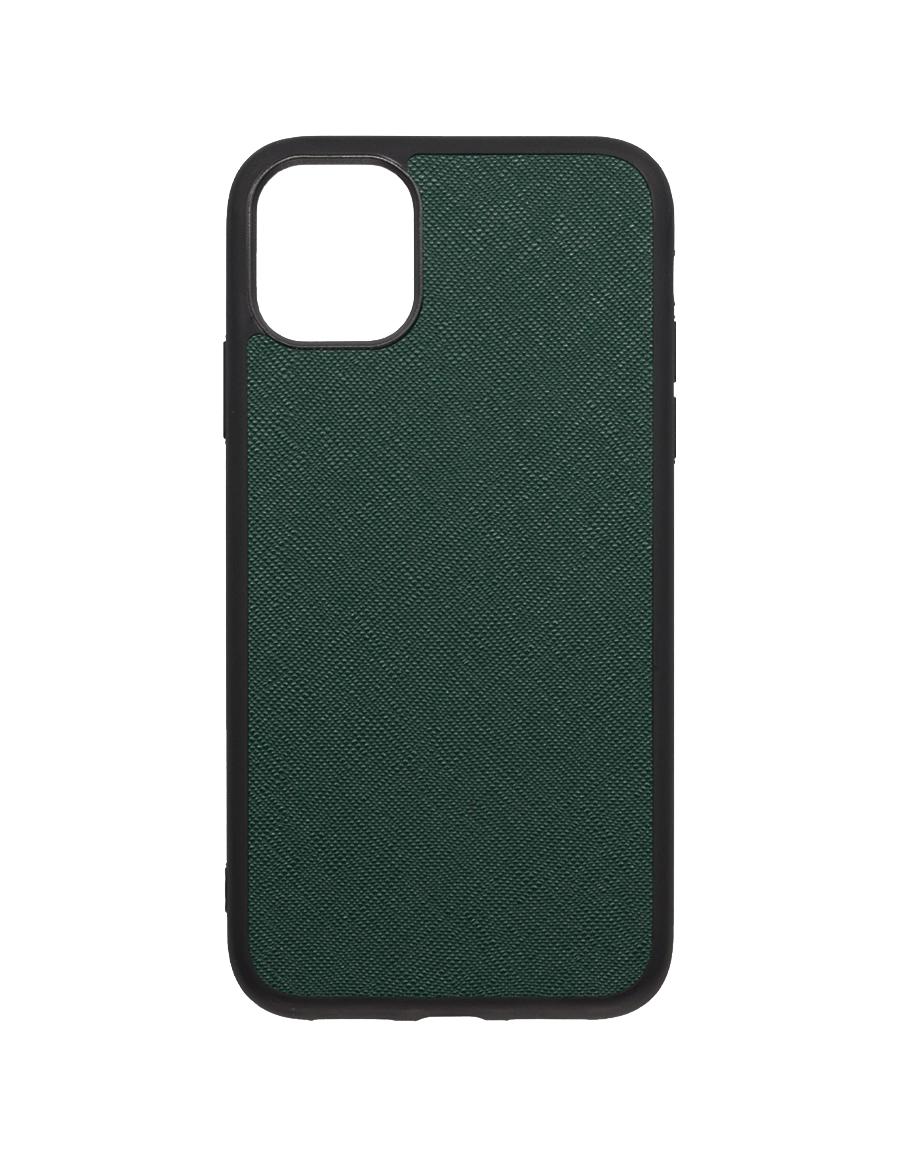 Timber Saffiano  Vegan iPhone 11 Case