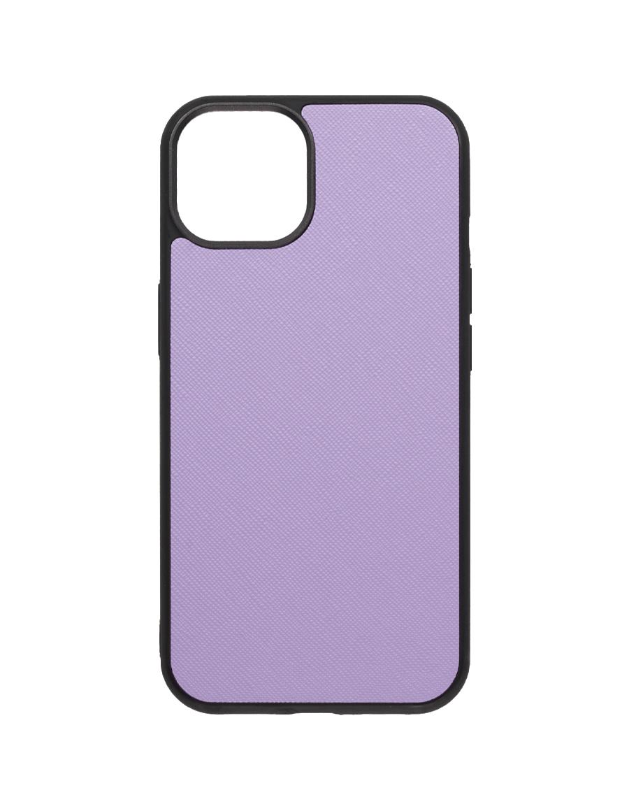 Lilac Saffiano Vegan iPhone 13 Case