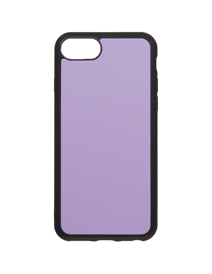 Lilac Saffiano Vegan iPhone 7/8 Case
