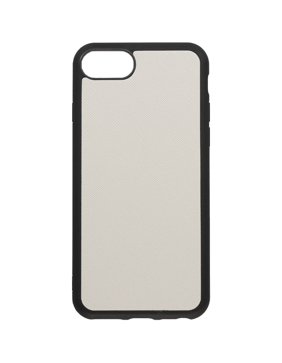 Linen White Saffiano Vegan iPhone 7/8 Case