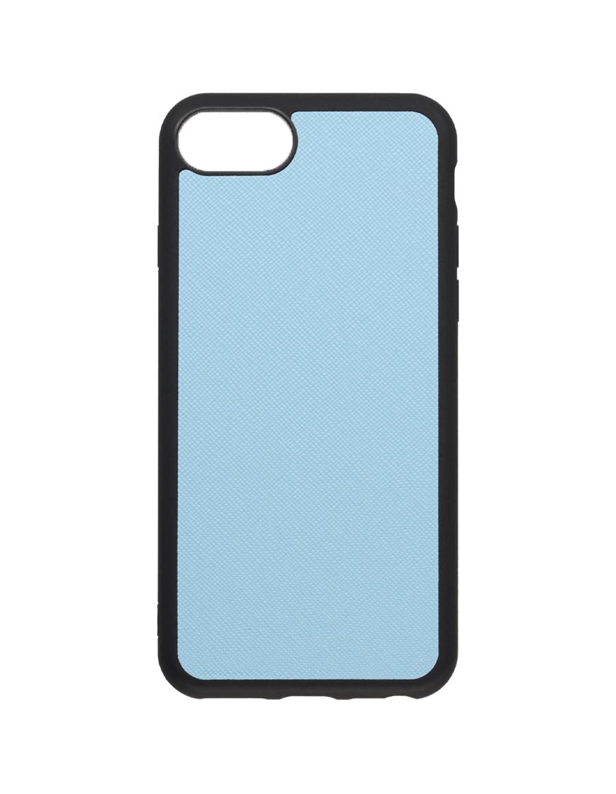 Frost Blue Saffiano Vegan iPhone 7/8 Case