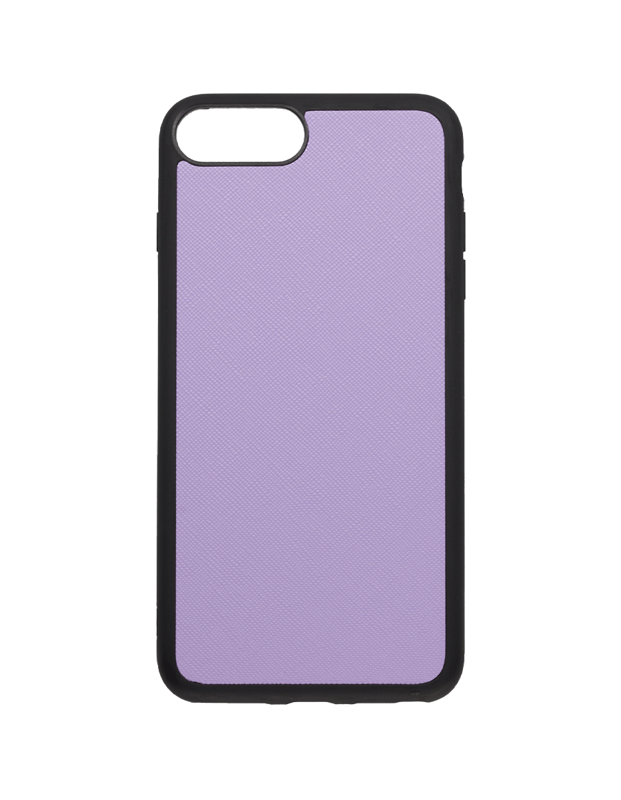 Lilac Saffiano Vegan iPhone 7+/8+ Case
