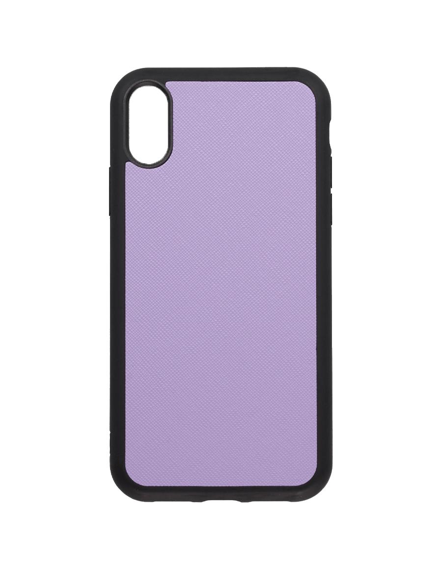 Lilac Saffiano Vegan  iPhone XR Case