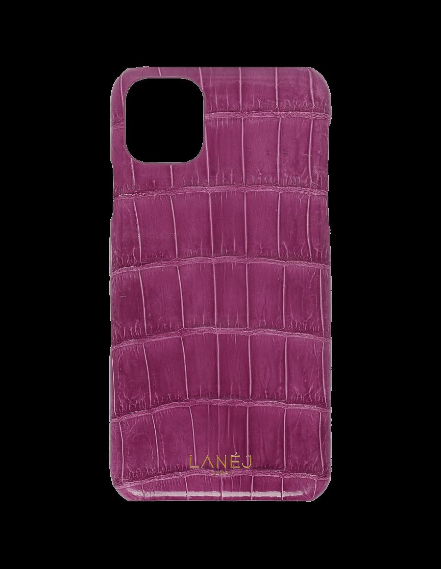 Imperial Purple Croc iPhone 11 Pro Max