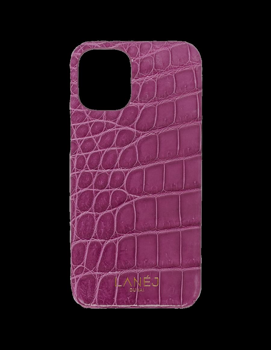 Imperial Purple Croc iPhone 12 Mini