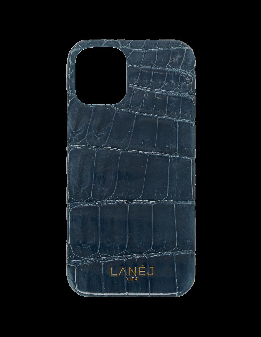 Insignia Blue Croc iPhone 12 Mini