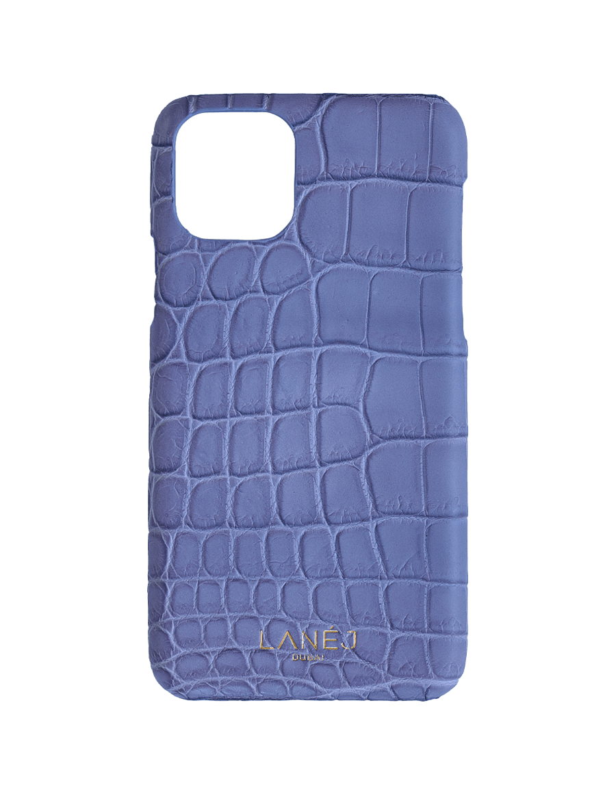 Matte Lilac Croc Iphone 11 Pro
