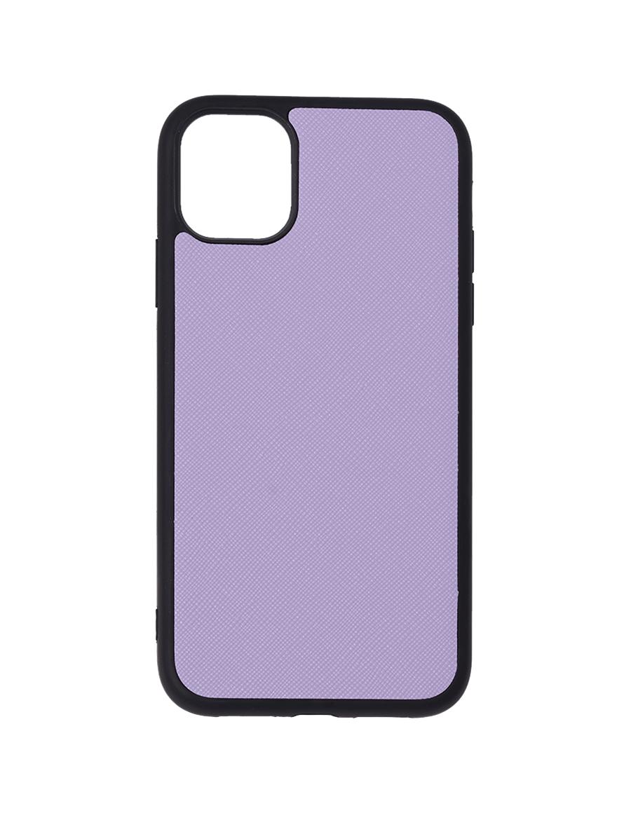 Lilac Saffiano Vegan iPhone 11 Case