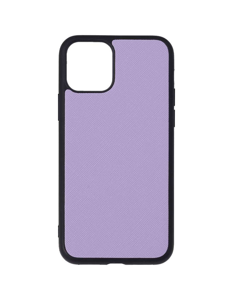 Lilac Saffiano Vegan iPhone 11 Pro Case