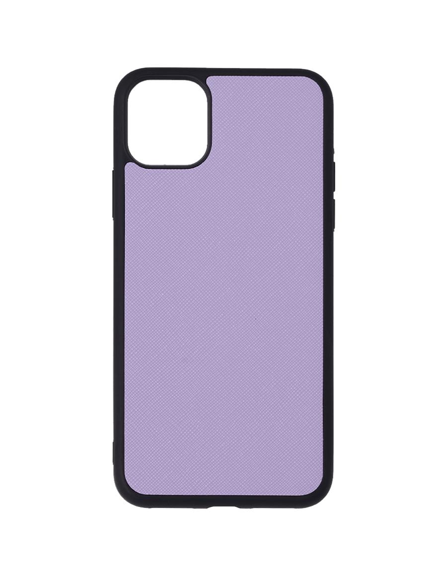 Lilac Saffiano Vegan iPhone 12 Pro Max Case