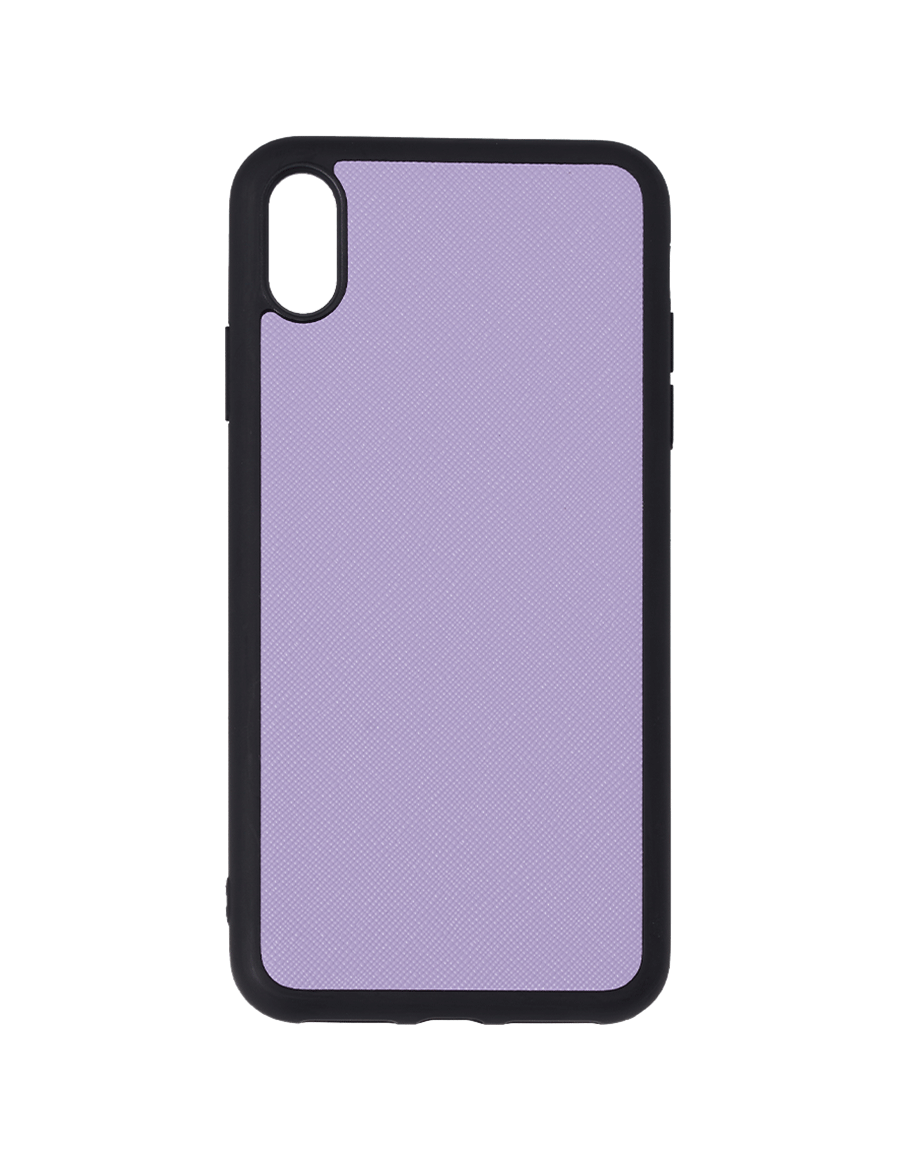 Lilac Saffiano Vegan Iphone XS Max Case