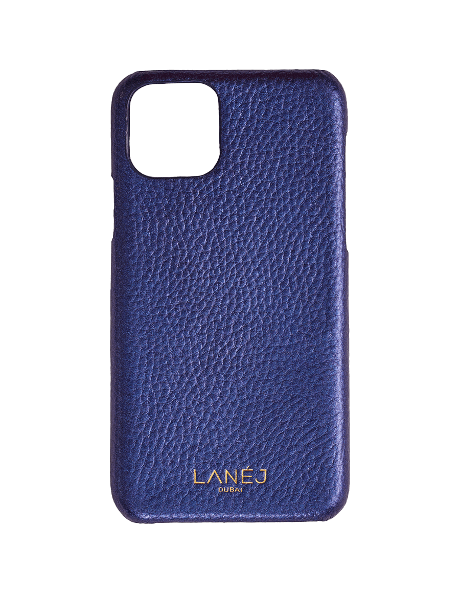 Metallic Blue Pebbled Iphone 11 Pro