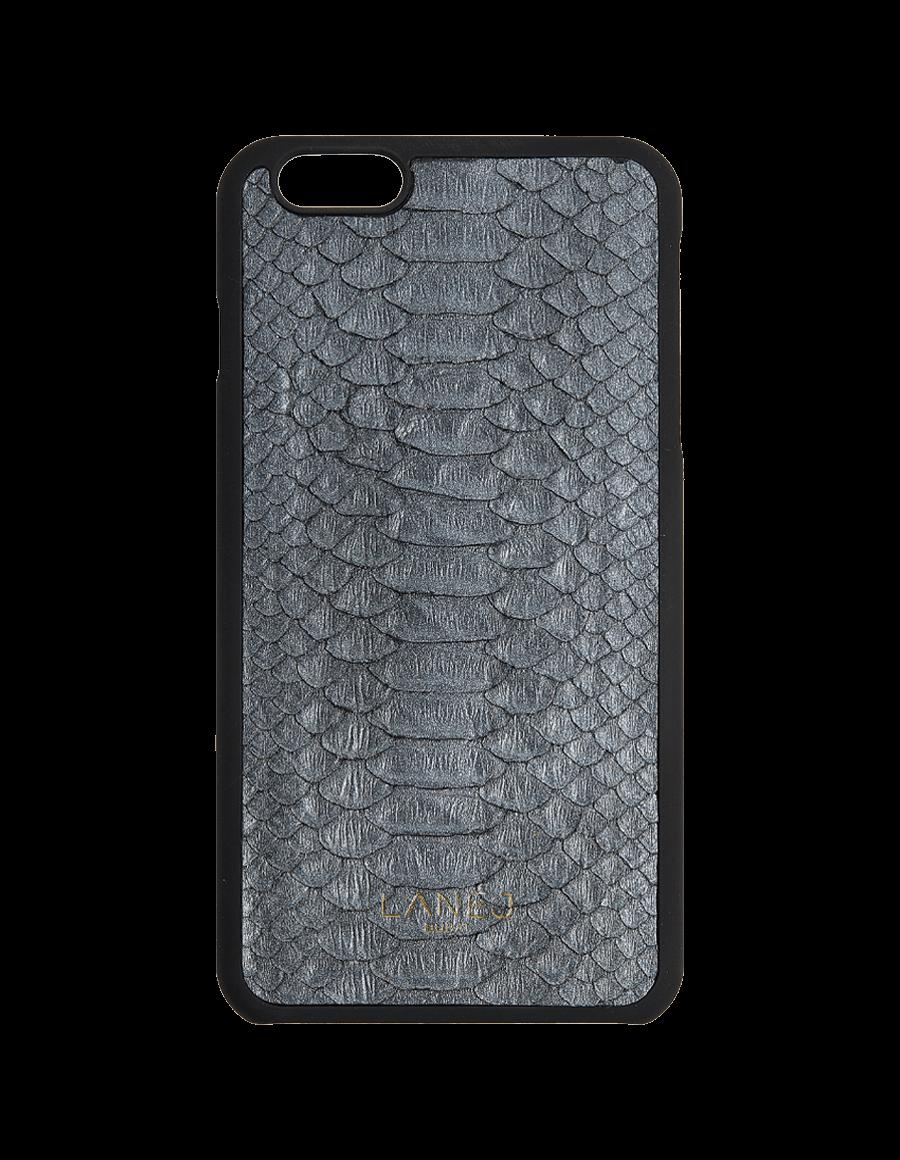 Metallic Grey Python Iphone 6+/6S+