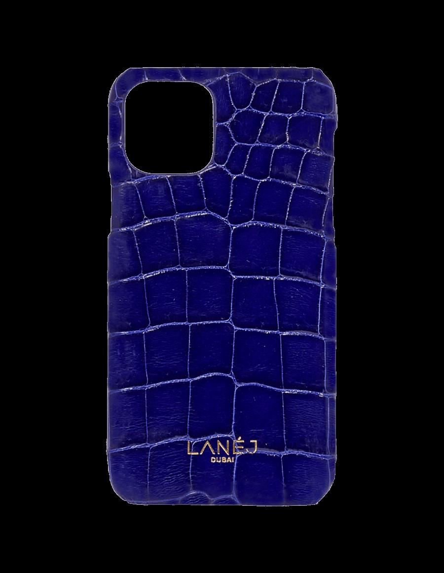 Midnight Blue Croc Iphone 11 Pro