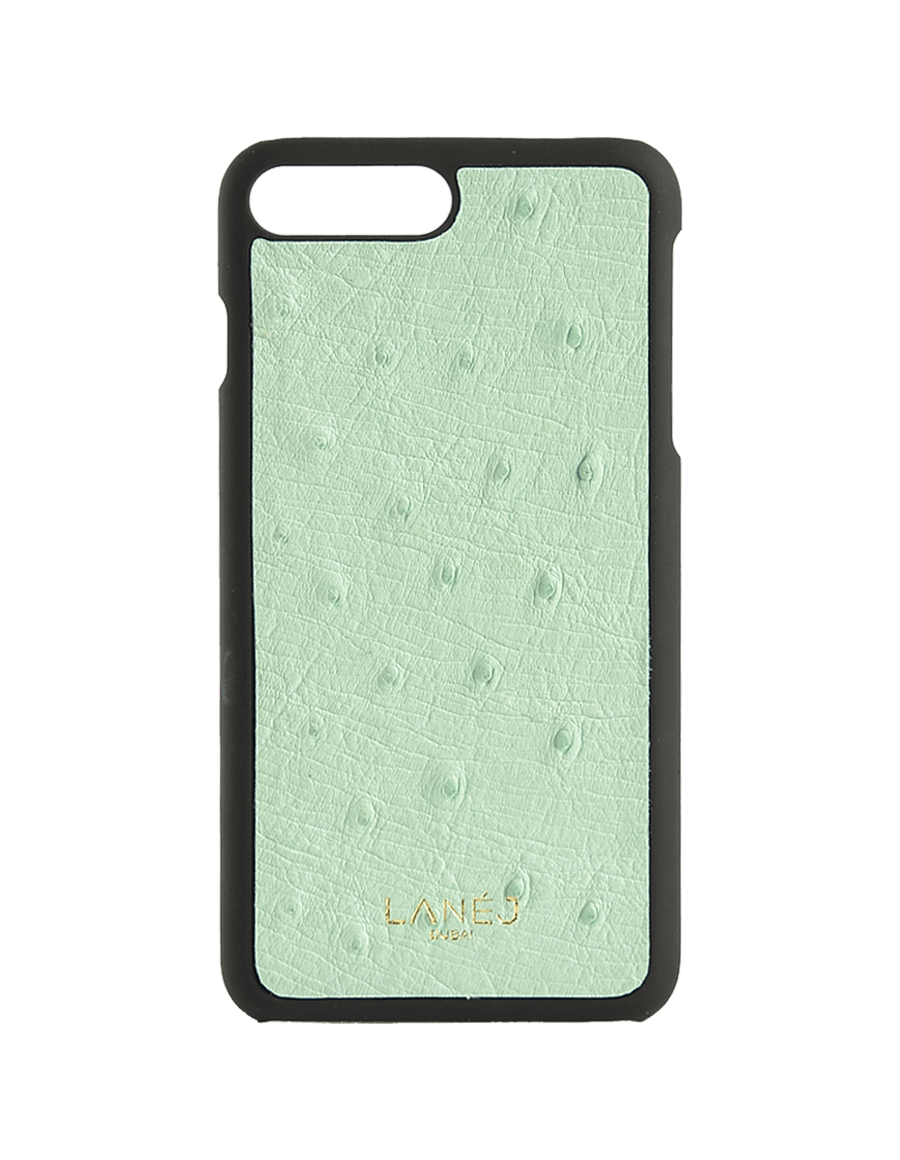 Mint Ostrich Iphone 7+/8+ With Border