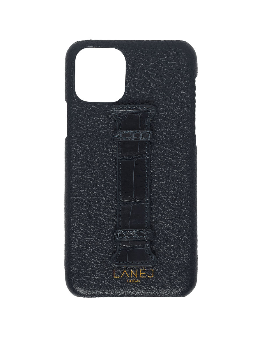 Navy Togo iPhone 11 Pro With Croc Holder