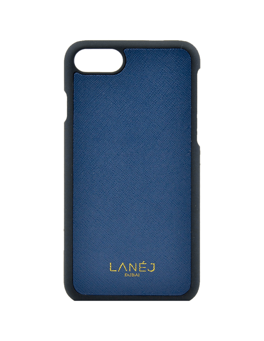Navy Saffiano Iphone 7/8