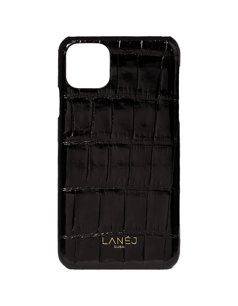 Noir Croc Iphone 11 Pro Max