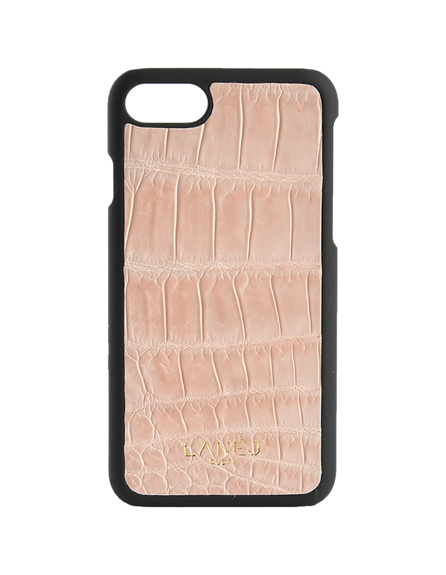 Nude Croc Iphone 7/8 With Border