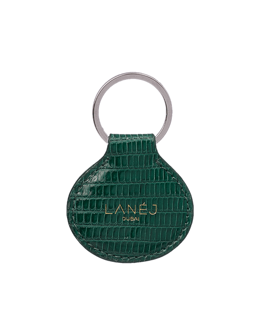 One Off Green Lizard Keychain