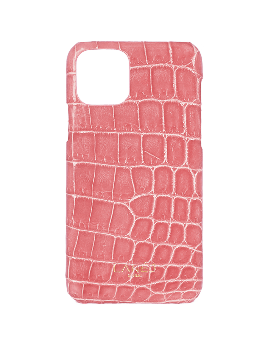 Orchid Pink Croc Iphone 11 Pro