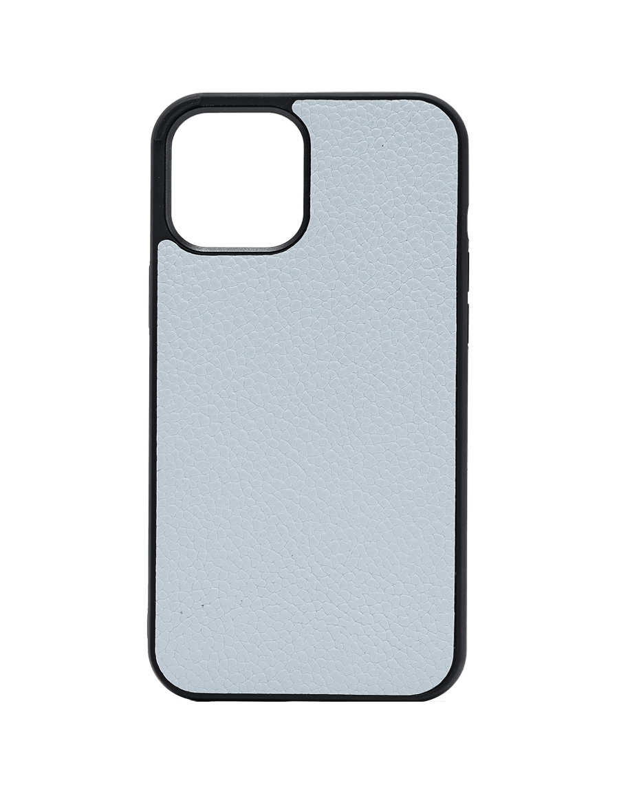 Pastel Blue Vegan iPhone 12 Pro Max Case