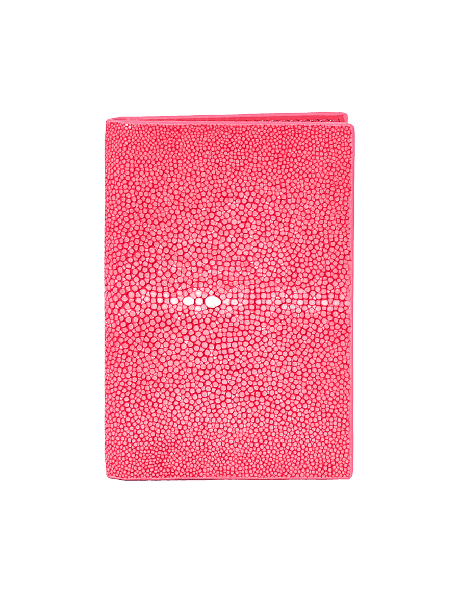 Pink Stingray Bi-Fold Card Holder