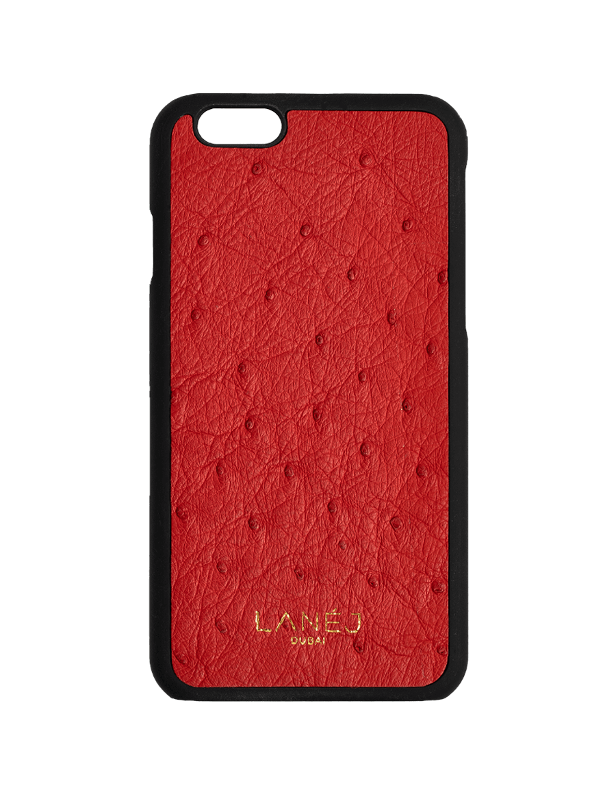 Red Ostrich Iphone 6/6S