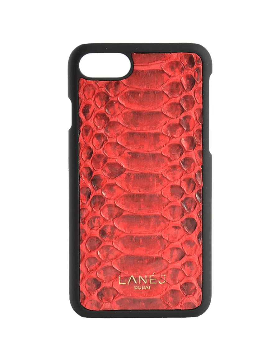 Red Python Iphone 7/8 With Border