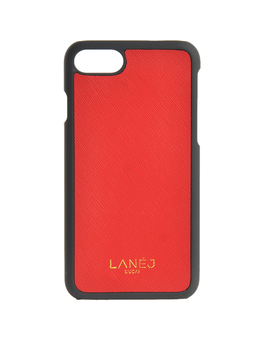 Red Saffiano Iphone 7/8
